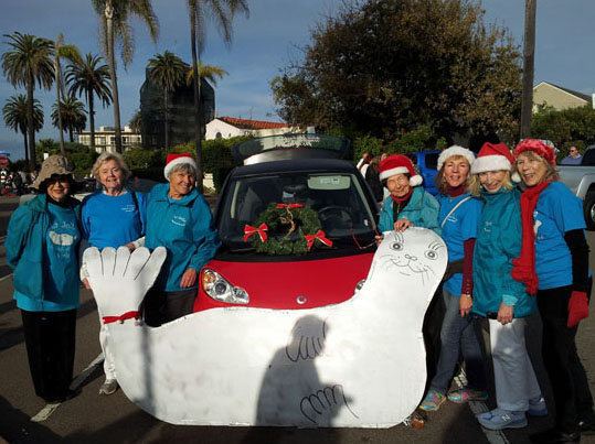 La Jolla Christmas Parade 2013